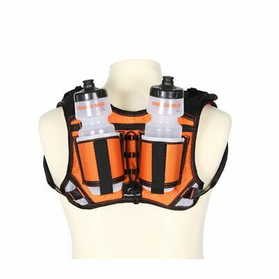 Orange Mud HydraQuiver Double Barrel Orange Trinkrucksack Trinksystem Trinkweste