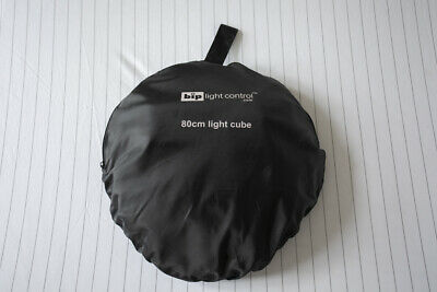 BIP Portable Light Tent Softbox Cube_Coloured Backdrops_80cm