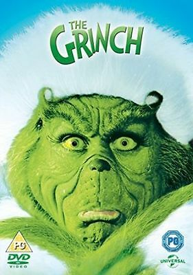 The Grinch Christmas DVD - New and Sealed with Sleeve