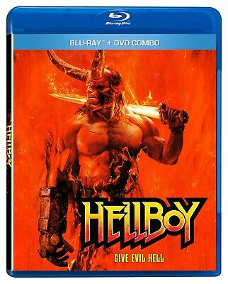 HELLBOY (2019) [Blu-ray+DVD] New !! Pre-order for July 23 (Free Shipping)