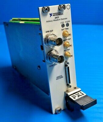 National Instruments PXI-5411 High-Speed Arbitrary Waveform Generator