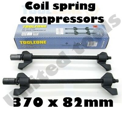 Heavy Duty 2 piece 370 x 82mm Coil spring Compressor Clamps AU005
