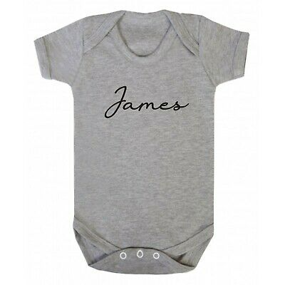 New baby girls,boys personalised vest - new baby gift - baby shower - any name
