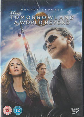 George Clooney - Disney Tommorland - A World Beyond - Brand New Dvd-871741845858
