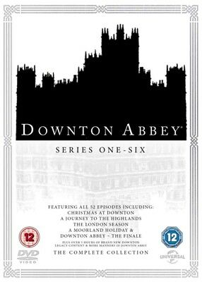 DOWNTON ABBEY Complete Collection Series 1-6 DVD Boxed Set NEW 2016 R2