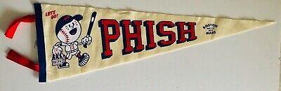 Phish boston Pennant fenway park white 2019 concert tour new