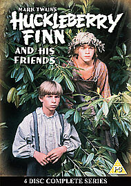 Mark Twain's Huckleberry Finn And His Friends - The Complete Series (DVD, 2007,