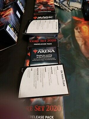 MAGIC THE GATHERING ARENA 6 FREE BOOSTERS CORE SET 2020 M20 fast EMAIL CODE ONLY