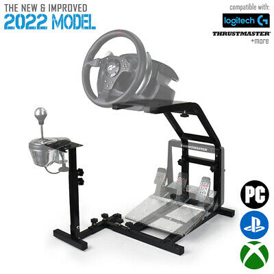 Racing Simulator Wheel Stand Cockpit Pro Racing LOGITECH THRUSTMASTER