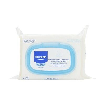Mustela Cleansing Wipes X 25