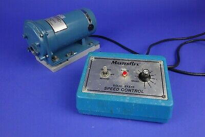 Cole Parmer Masterflex Peristaltic Pump Drive with Speed Control - Working