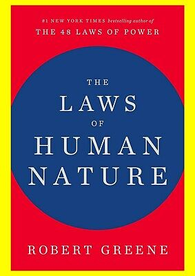 The Laws of Human Nature By Robert Greene ⭐ INSTANT EMAIL DELIVERY ⚡
