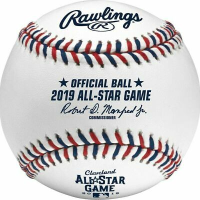 Official 2019 Rawlings MLB All Star Official Game Baseball Cleveland Boxed New
