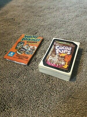 Wacky Packages All New Series 3 COMPLETE SET w/ wrapper (Plus BONUS cards!)