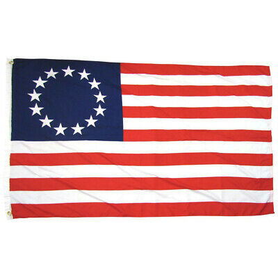 Garden Decoration 13 Stars American Stars And Stripes USA 3 X 5 Foot Flag