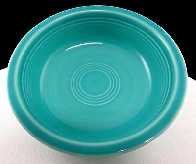 """Fiesta Homer Laughlin Turquoise 6 7/8"""" Coupe Soup Bowl 1988"""