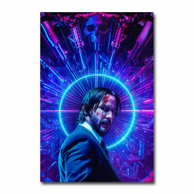 John Wick 3 Movie Art Silk Poster Wall Art Home Decor Print 13x20 24x36 inch