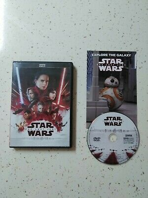 Star Wars: Episode VIII: The Last Jedi, DVD only Andy Serkis, Carrie Fisher.2018