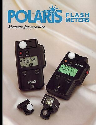 POLARIS LIGHT METERS CATALOG/BROCHURE (ORIGINAL PRINT/not copies)
