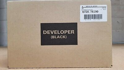 Genuine Xerox Black Developer 675K76190 Series-IV&V C558/5/6680/5/7780/5/700/C75