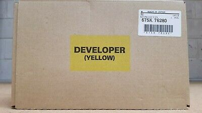Genuine Xerox Yellow Developer 675K76280 Series-IV&V C558/5/6680/5/7780/5/700