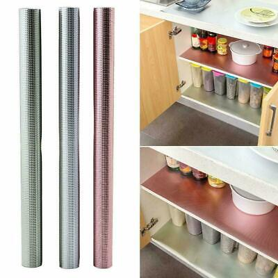 Waterproof Kitchen Cabinet Drawer Liner Mat Table Shelf Placemat Fast Non-S A1E3