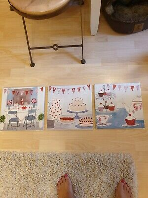 Next Afternoon Tea Canvasses x3