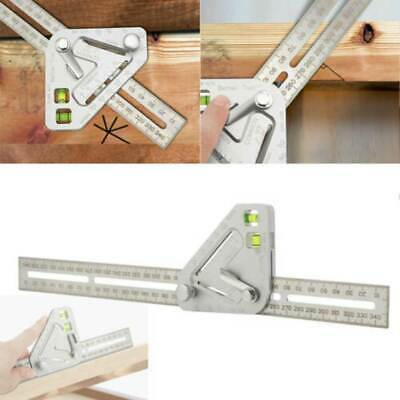 Roof Measuring Angle Ruler Multi-function Tools for Carpentry Woodworking