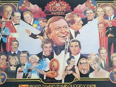 Tv Week 21St Anniversary Logies Poster - 1979 In Good Condition