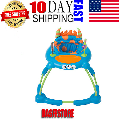 Cosco Simple Steps Interactive Baby Walker, Silly Sweet Tooth Monster* Free Ship