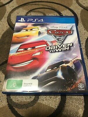 Cars 3 Driven to Win - Playstation 4 (PS4) Game As New Fantastic Condition