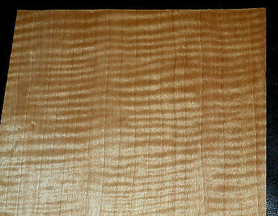 Anigre Raw Wood Veneer Sheets 7.5 x 27 inches                            7837-17
