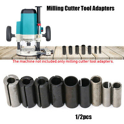 CNC Router Bit Milling Cutter Tool Adapters Holder Adapter Collet Shank