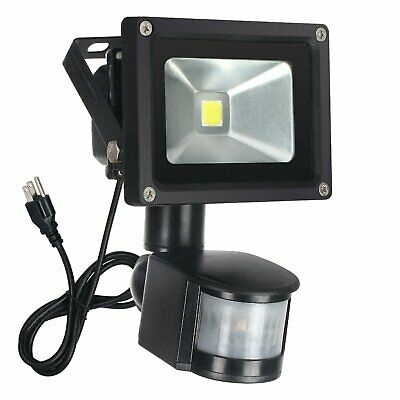 Outdoor Motion Sensor Flood Light Security Lights Safety Home Waterproof Lamp
