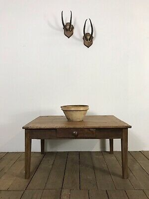 Stunning Antique French Country Farmhouse Coffee Table