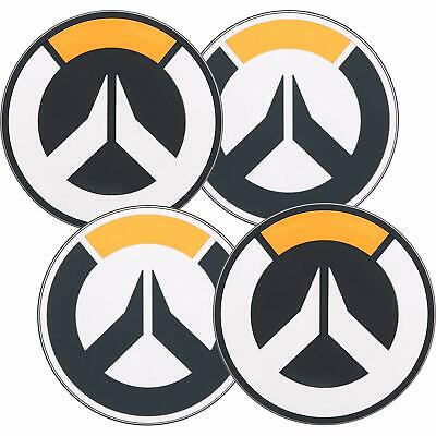 Overwatch Logo Rubber Coasters (4 Pack)