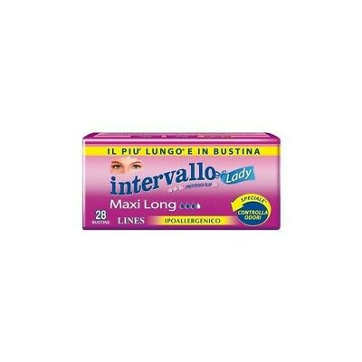 LINES Pantyliners Intervallo Lady Maxi 28 Panty