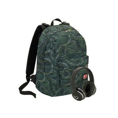 SEVEN The Double project - doubleface backpack python military green