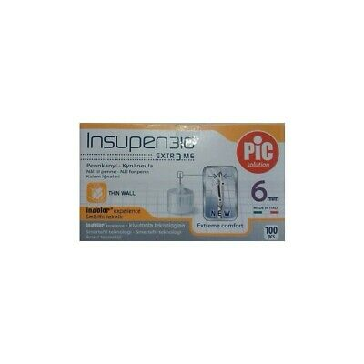 PIC Needle G 31 Insupen 6 Mm 100 Pieces 22989