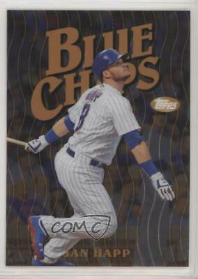 2019 Topps Finest Blue Chips #FBCIH Ian Happ Chicago Cubs Baseball Card