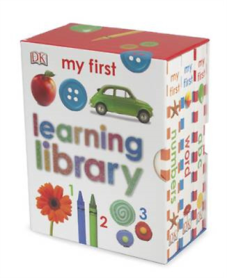 Learning Library (My First Board Book), DK, Used; Acceptable Book