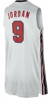 Canotta/Jersey Collezione-Basket Nba-Usa Dream Team 92-Michael Jordan #9-Bianca