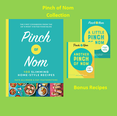 Pinch Of Nom 100 Slimming Home Style Recipes Book Weight Loss Cookbooks
