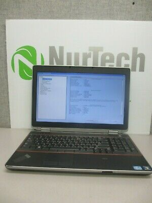 "Dell Latitude E6520 15.6"" i5-2520M 2.5GHz 4GB/160GB DVD/RW Linux Laptop + AC"