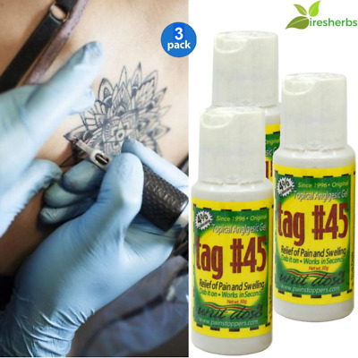#1 Topical Anesthetic Gel For Eyebrow Numbing Tattooing Waxing Electrology 90 G