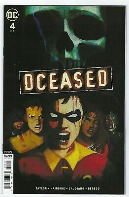 Dceased # 4 Of 6 Horror Variant Dc Comic  Nm