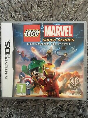 LEGO MARVEL SUPER HEROES * NINTENDO DS / DS LITE / DSi 100% GENUINE . FAST POST