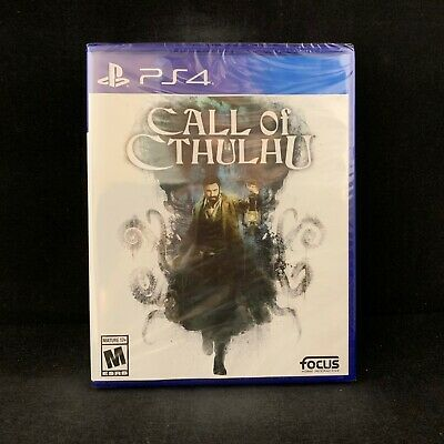 Call of Cthulhu (PlayStation 4 / PS4) BRAND NEW / Region Free