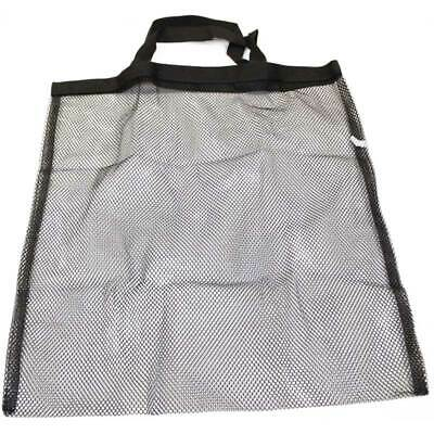 Lake or Beach Vacation Tote Mesh Bag w/ handle See through style Velcro close