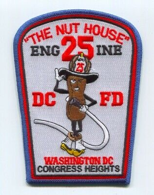 District of Columbia Fire Department DCFD Engine 25 Patch Washington DC